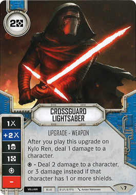 Crossguard Lightsaber
