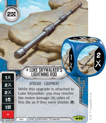 Luke Skywalker's Lightning Rod