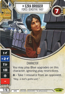 Ezra Bridger - Force-Sensitive Thief