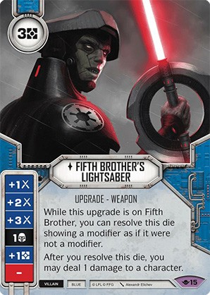 Fifth Brother_s Lightsaber
