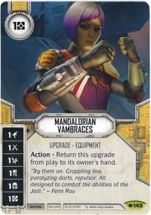 Mandalorian Vambraces
