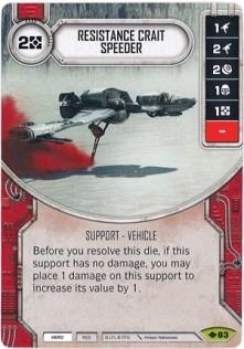 Resistance Crait Speeder