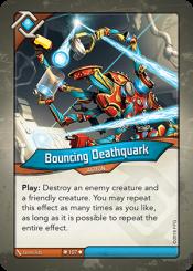 Bouncing Deathquark