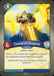 Champion Anaphiel