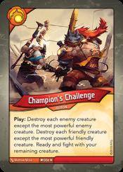 ChampionGÇÖs Challenge