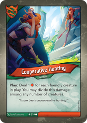 Cooperative Hunting