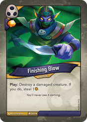 Finishing Blow