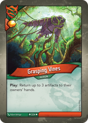 Grasping Vines