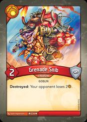 Grenade Snib