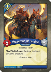 Horseman of Famine