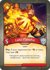 Lomir Flamefist