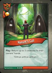 NatureGÇÖs Call