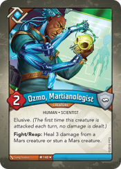 Ozmo, Martianologist
