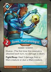 Ozmo, Martianologist