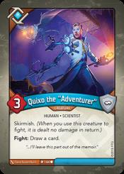 """Quixo the """"Adventurer"""""""