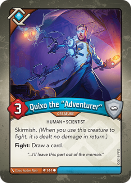 "Quixo the ""Adventurer"""
