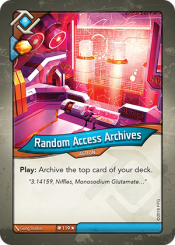 Random Access Archives