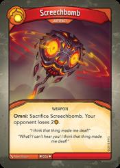 Screechbomb