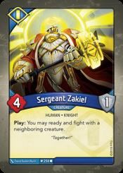 Sergeant Zakiel