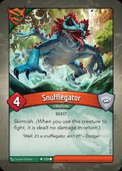 Snufflegator