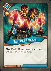 Twin Bolt Emission
