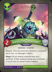Uxlyx the Zookeeper