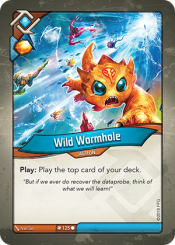 Wild Wormhole