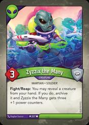 Zyzzix the Many