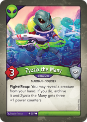 Zyzzix the Many